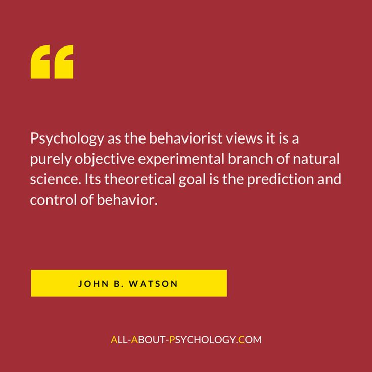 views of psychology Read one of the most influential texts in the history of psychology 'psychology as the behaviorist views it' by john b watson, in full for free.