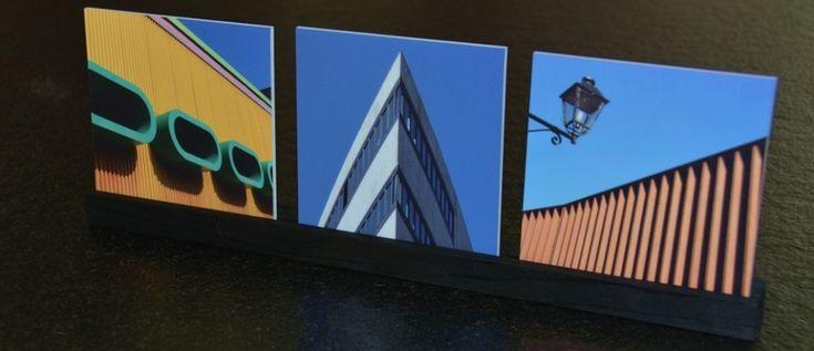 FotoArt sind aussergewöhnliche Fotos. Quadratisch, einzel oder in einer 3er-Serie sorgen sie für einen Blickfang. Geliefert optional mit einem Stellfuss aus Holz.