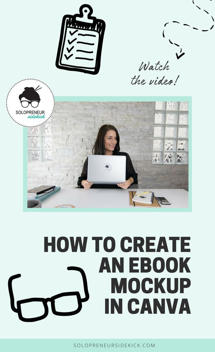 How To Create An Ebook Mockup In Canva In This Video Tutorial You Ll See Just How Easy It Is To Create A Moc Canva Design Branding Design Graphic Design Tips