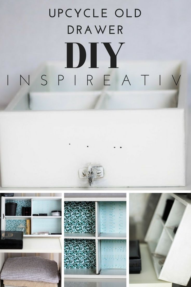 Today I propose DIY – remaking of old drawers to the new shelf. Isn't that better to transform the old stuff to new gadgets before we spend more money for a new stuff?