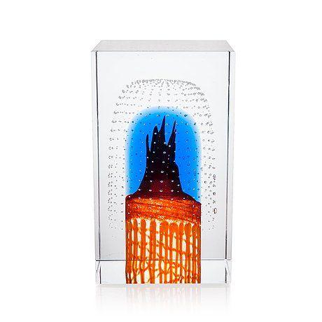 Oiva Toikka Glass cube 2001