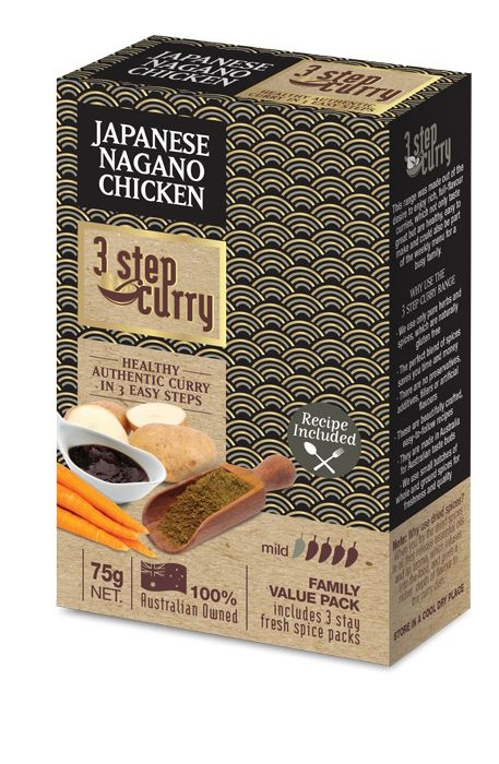 Japanese Nagano Chicken « 3 Step Curry