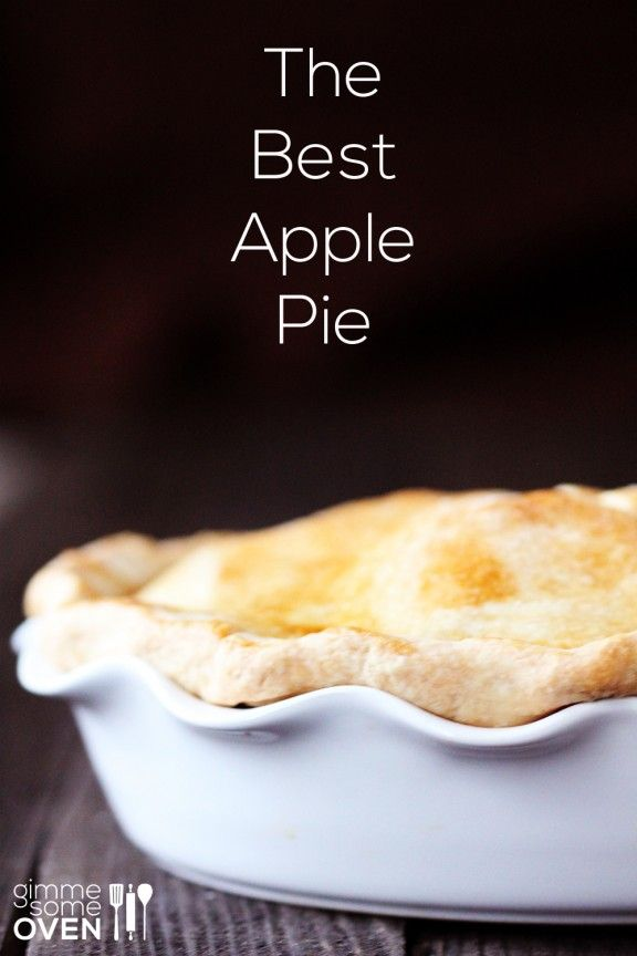 The Best Apple Pie | www.gimmesomeoven.com