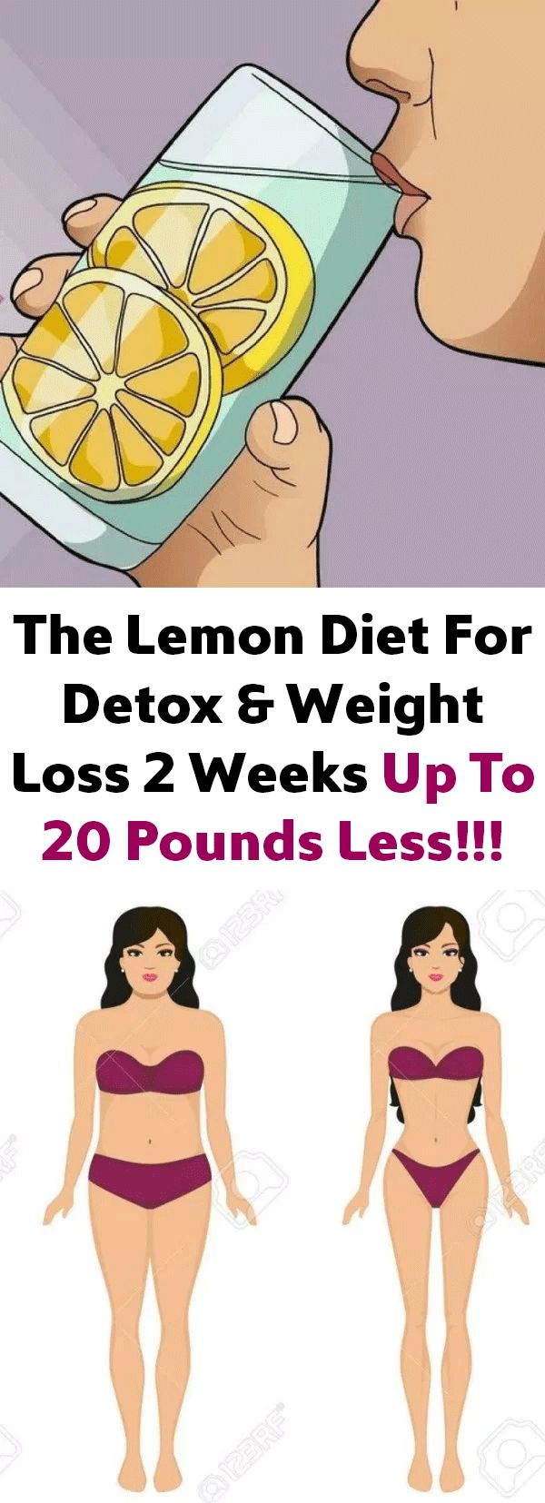 The Lemon Diet For Detox & Weight Loss 2 Weeks Up To 20 Pounds Less