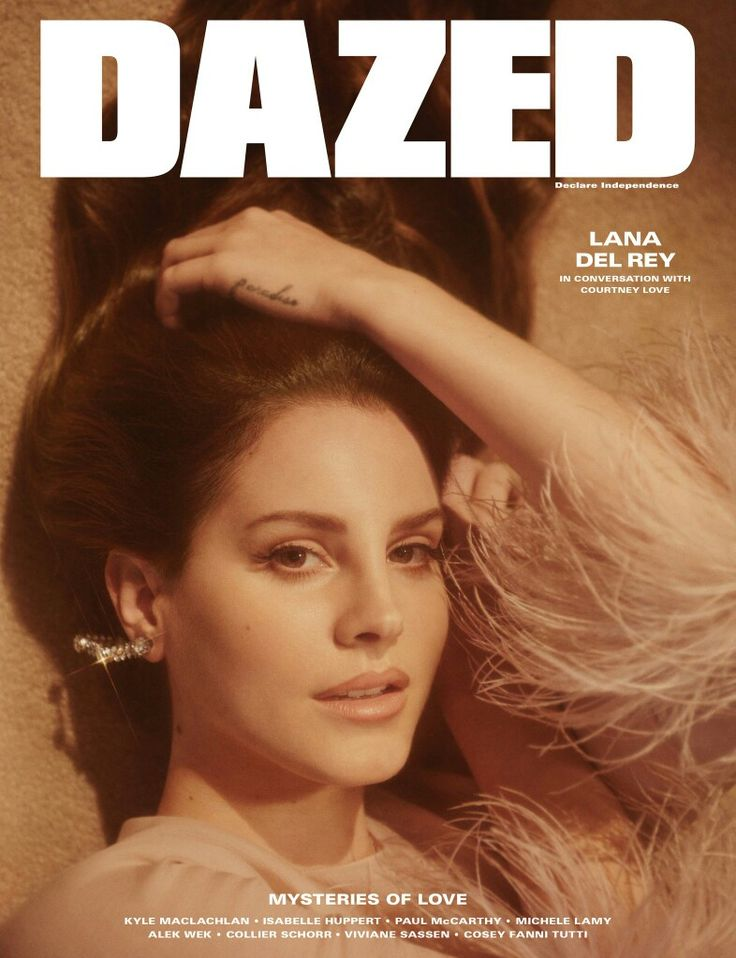Take two! Lana Del Rey on the cover of Dazed Magazine's spring/summer issue out worldwide on April 20, 2017!! #LDR