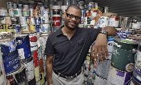 Great idea for those paint cans in the garage - Donate used paint leftovers to charity that uses paint to add color to third world countries that usually cannot afford paint. www.globalpaints.org.