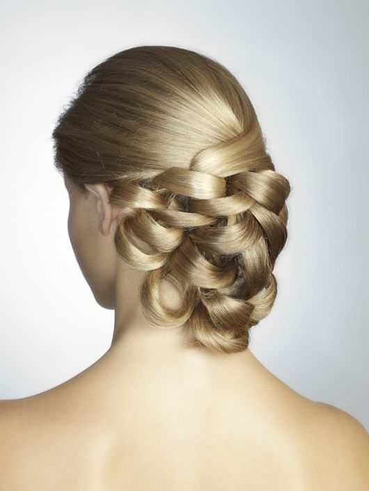 How To Do A Basket Weave Updo : Images about pictures of wedding hairstyle ideas on