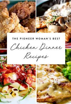 The Pioneer Woman's Best Chicken Dinner Recipes via @PureWow via @PureWow