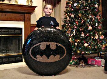 Batman fiberglass saucer sled from store.sledriding.com