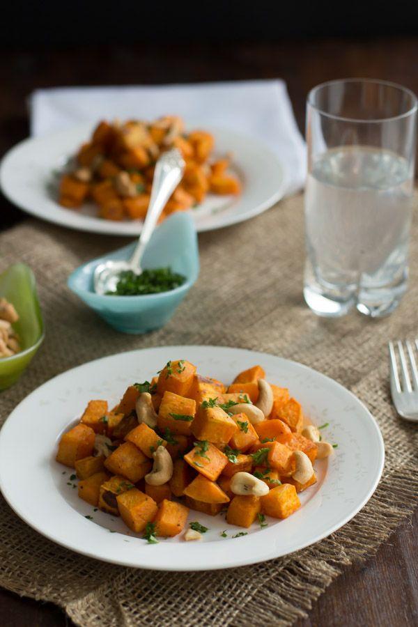 Baked Sweet Potato with Cashew - Primavera Kitchen