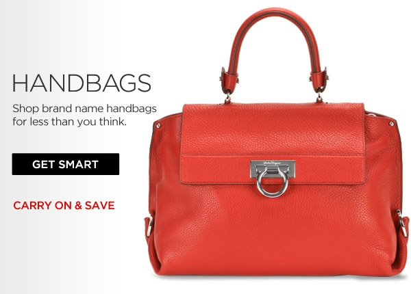 Designer handbags & purses at huge savings from Salvatore Ferragamo, Calvin Klein and more - Smartbargains.com