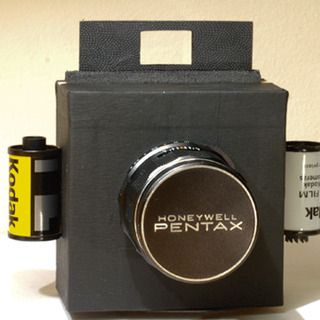 Homemade 35mm Box Camera