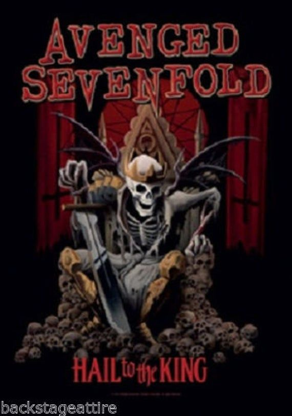 Avenged Sevenfold A7x Hail To The King Official Cloth Textile