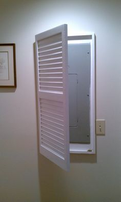 17 best ideas about fuse panel electric box disguise any household eyesore these clever tricks
