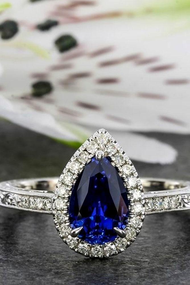 Stunning Pear Shaped Engagement Rings ★ #engagementring #proposal