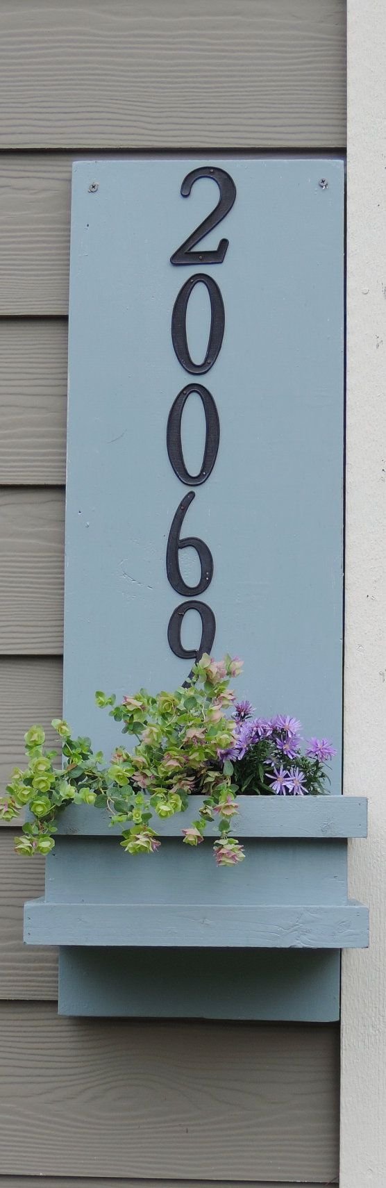 10 best House Numbers images on Pinterest | House number plates ...