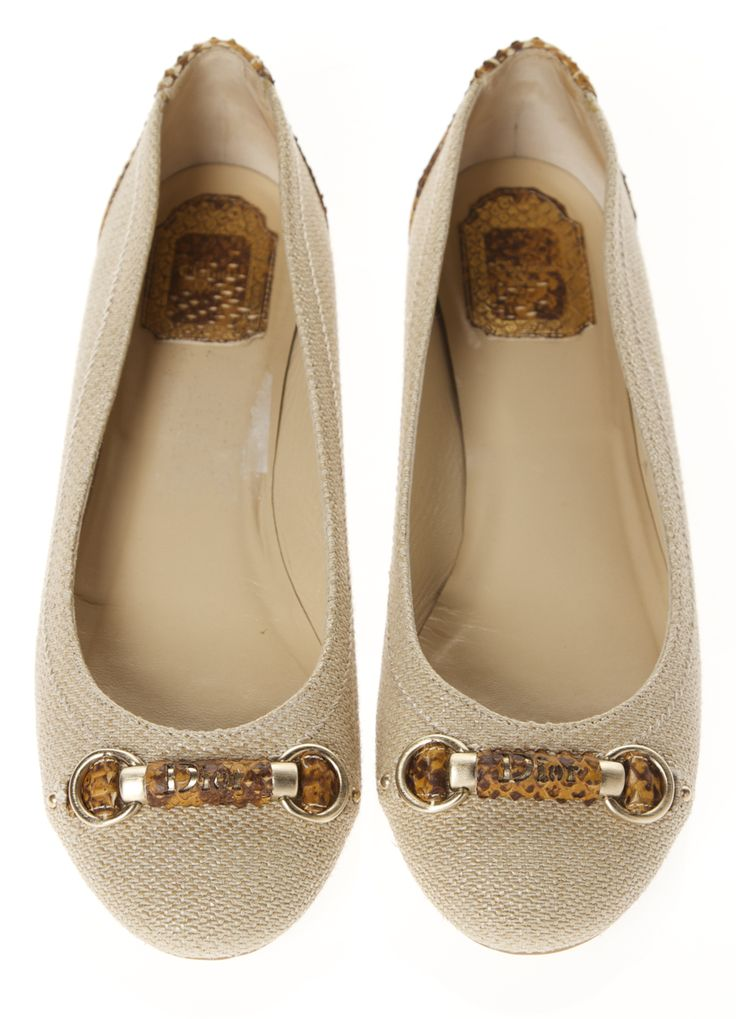 Christian Dior Flats @FollowShopHers