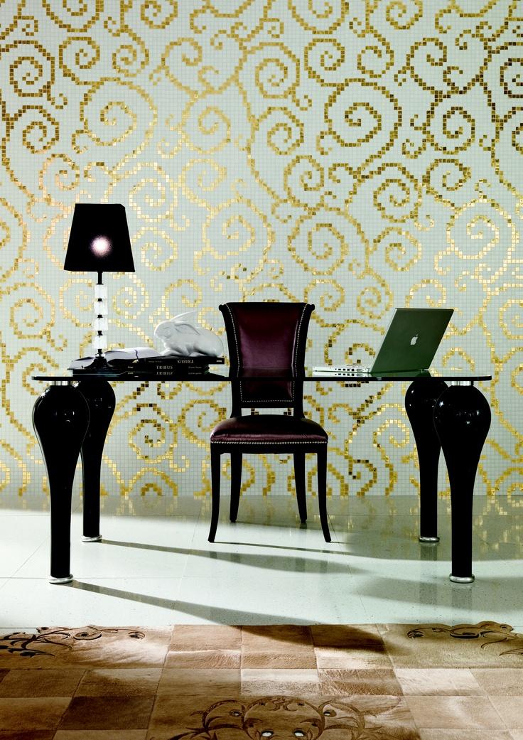 Trend Group Luxurious mosaic tile wallpaper - Splash Showroom