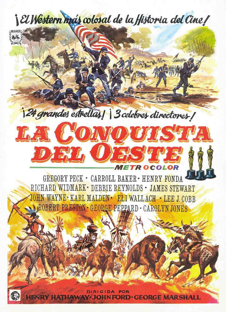 La conquista del Oeste - How the West was won