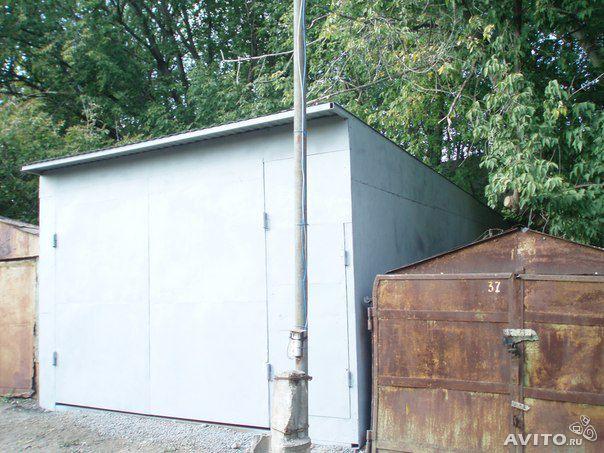 Монтаж гаража с нуля 40 кв.м. Грунтовка. Металл лист ХК.