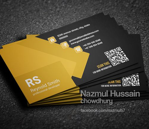366 best business card design images on pinterest business card professional business card template wajeb Images