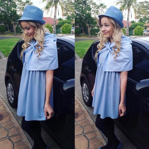 Fleur Delacour is a unique and easy last-minute Halloween costume idea for women -- especially Harry Potter fans!