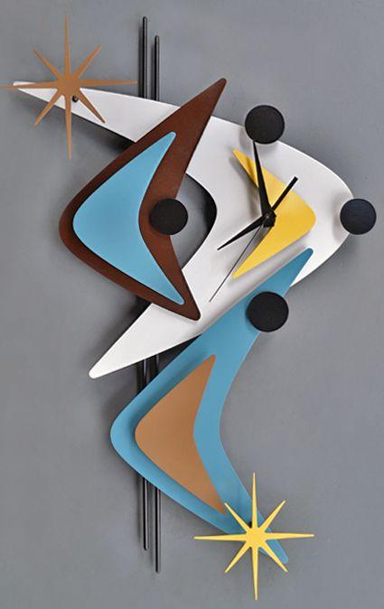 1000 Ideas About Retro Clock On Pinterest Old Clocks