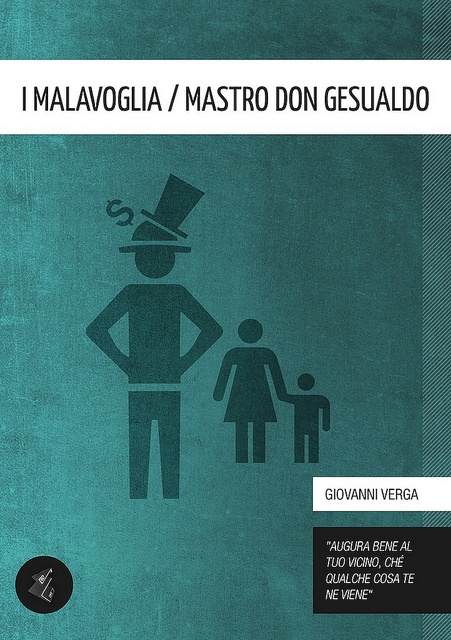 I Malavoglia / Mastro Don Gesualdo [Literary Classics Series] - Giovanni Verga (author), Gabriele Ciufo (cover)