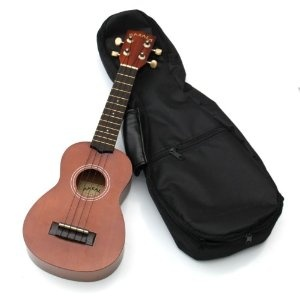 Mateen gave me my first ukulele during Christmas last year.  It's so much easier than the guitar, seriously.