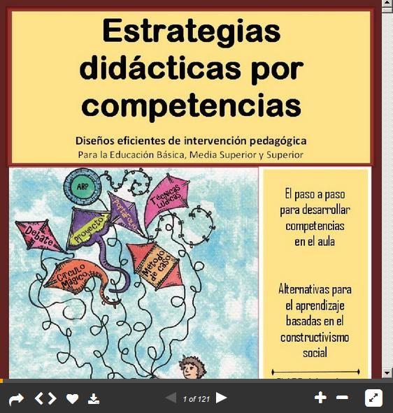 Estrategias Didácticas por Competencias - Diseños de Intervención Pedagógica   #Presentación #Educación