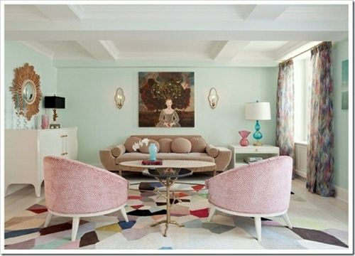 IDEAS FOR DECORATING WITH PASTEL COLORS #pasteldesign #pastelcolors #interiordesign