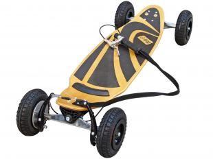 """Skate Carve Mtx Júnior c/ Sharpe Marfim - Rodas Aro 4"""" 6001 Dupla Blindagem - Dropboards"""
