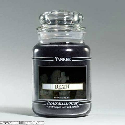 Scented Yankee Candle Even This Stodgy Conservative Company Is Getting In On The Goth Gift Items Cool Dark 2018 Pinterest