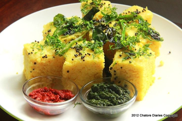 Recipe – Khaman Dhokla on http://chatorediaries.com