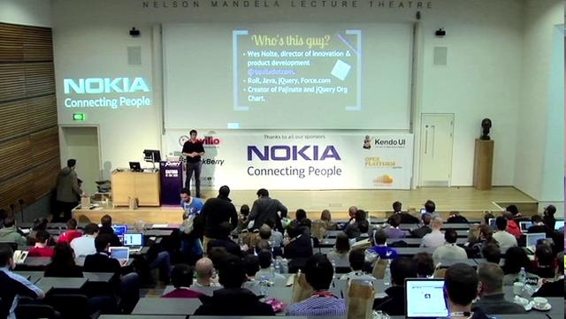 jQuery UK 2012 - Develop like a BOSS with these 10 jQuery Tips - Wes Nolte by White October