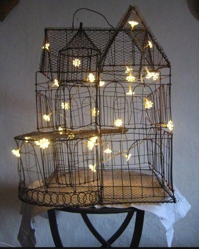 1000 id es sur le th me cage oiseaux sur pinterest cage for Deco cage a oiseaux