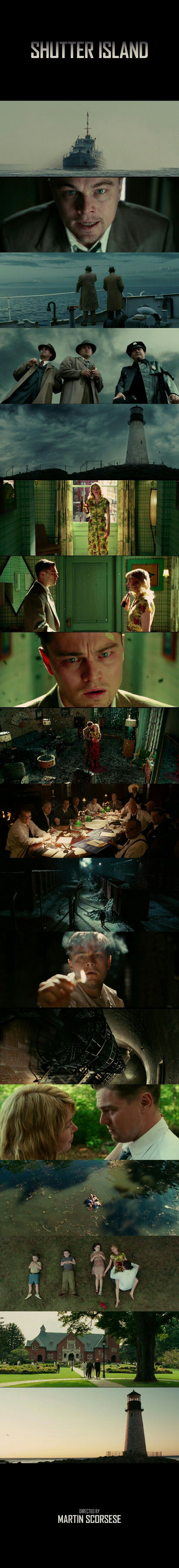 Shutter Island (2010) Directed by Martin Scorsese. Cinematography by Robert Richardson.