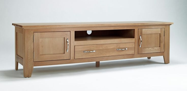 Sherwood Oak Large TV Unit  has a light oak appearance and is finished in a hard-wearing, satin lacquer finish.  #Furniture #PriceCrashFurniture #TVFurniture #TV #Television #Room #LivingRoom #TVUnit #Sherwood #Oak http://pricecrashfurniture.co.uk/sherwood-oak-large-tv-unit.html