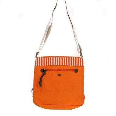 Rocket Dog Cardamom Orange Canvas Cross Body Bag