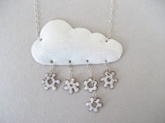 Such a cute idea.  But I wish they still had the rain cloud with the blue dangly stones.  THAT is the best. $130