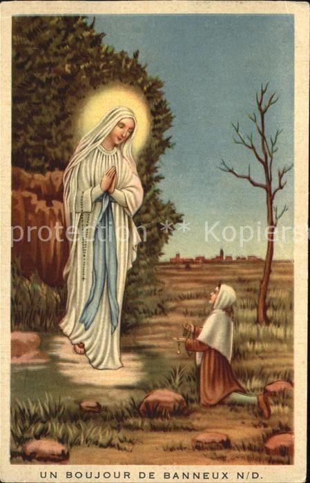 72402475 Religion Gottesmutter Maria Banneux Religion