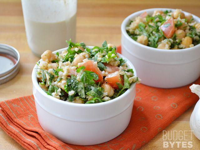"""Falafel"" Salad - Budget Bytes"