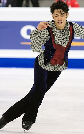 Daisuke Takahashi, World Figure Skating Championships 2010, men's costume inspiration for Sk8 Gr8 Designs