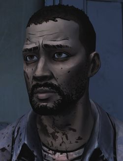 Lee from the Walking Dead video game