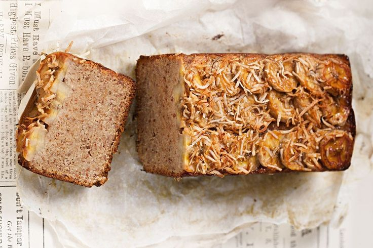 A tropical take on the classic banana bread, this vegan version uses desiccated coconut and almond meal to create a lusciously sweet and nutty flavour. It's also gluten free and egg free, making it perfect for anyone with a food allergy or intolerance. This recipe is an extract from Teresa Cutter's new cookbook, Healthy Baking - Cakes, Cookies + Raw ($69.95), available now.