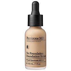 Perricone MD - No Foundation Foundation Serum  #sephora;.....So I just bought this, SOOO excited to see how it blends with my face!! i looove the Forever Makeup, let's see how they work together