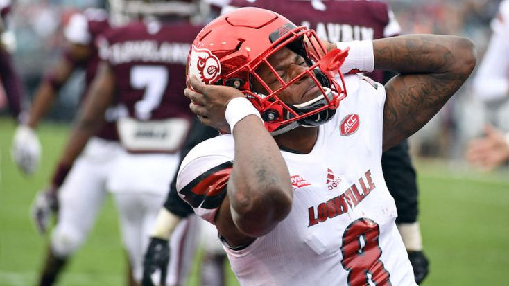 2018 NFL combine: Lamar Jackson makes it very clear he is 'strictly' a QB, no WR drills