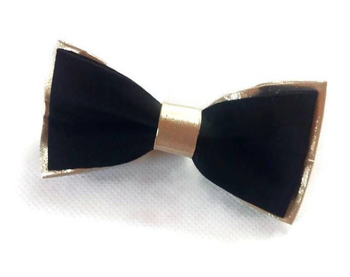 BLACK gold wedding/black gold bow tie/gold and black/bow tie men/ring bearer outfit/golden bow ties for groomsmen/wedding bow tie/for groom