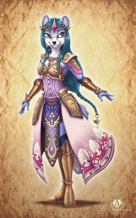 Hyrule Warrior Krystal by DolphyDolphiana