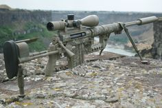 CheyTac Intervention .408 (U.S.A.) The CheyTac Intervention an American bolt action sniper rifle manufactured by CheyTac LLC. It is fed by a 7-round detachable single stack magazine. It fires .408 Chey Tac or .375 Chey Tac ammunition. CheyTac LLC states that the system is capable of delivering sub-MOA accuracy at ranges of up to 2,500 yards (2,300 m), one of the longest ranges of all modern-day sniper rifles.
